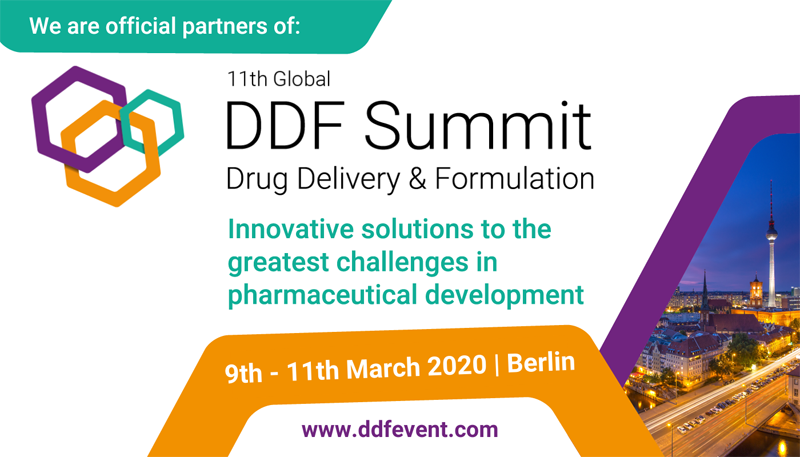 Nanomol Technologies is official partner of 11th Global DDF Summit Drug Delivery & Formulation