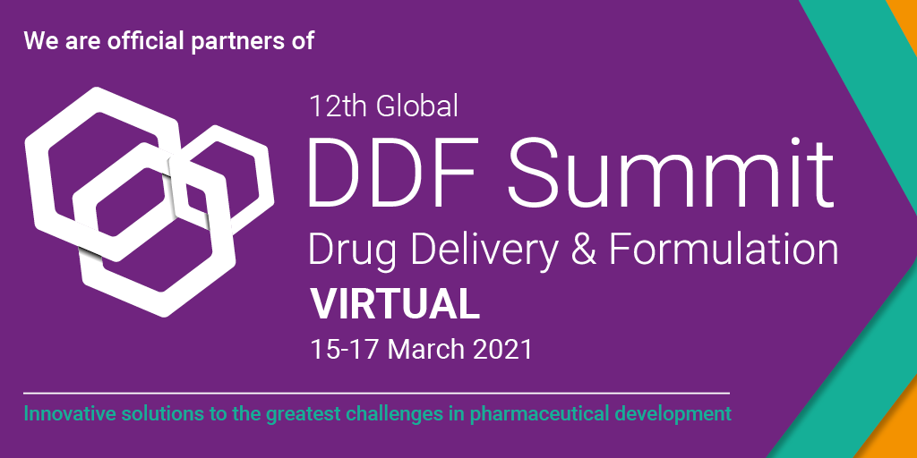 NANOMOL TECHNOLOGIES IS OFFICIAL PARTNER OF 12TH GLOBAL DDF SUMMIT DRUG DELIVERY & FORMULATION