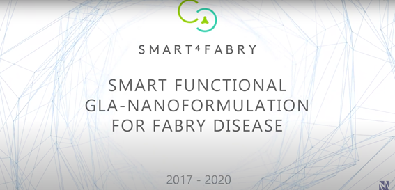 DELOS based nanoformulation for Fabry Disease designed as Orphan Drug